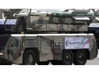 ایران کا اینٹی ائرکرافٹ سسٹم کا کامیاب تجربہ