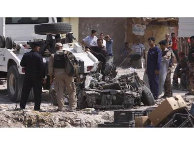 عراق میں سکول پر خودکش کار بم حملہ6 ہلاک اور 14 زخمی