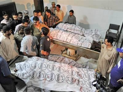 کراچی ٹارگٹ کلنگ جاری' مذہبی جماعت کے 4 بھائیوں سمیت 17 افراد جاں بحق