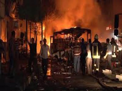 ترکی: فوجی گاڑی پر بم حملہ، 7 اہلکار ہلاک