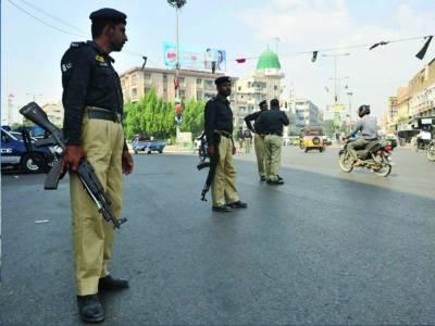 رینجرز' پولیس کا مختلف علاقوں میں ٹارگٹیڈ آپریشن