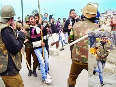 سرینگر: محرم الحرام کے جلوسوں پر لاٹھی چارج' تشدد سے متعدد عزا دار زخمی