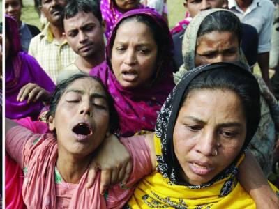 بنگلہ دیش: فیکٹری میں ہولناک آتشزدگی '126 افراد ہلاک'200 سے زائد زخمی
