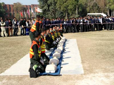 9' 10 محرم کو پنجاب بھر میں ریسکیو نے 19 ہزار سے زائد عزاداروں کو طبی امداد فراہم کی