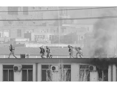 کابل میں ٹریفک پولیس ہیڈکوارٹرز پر حملہ' طویل جھڑپ' 4 افسروں سمیت 10 ہلاک