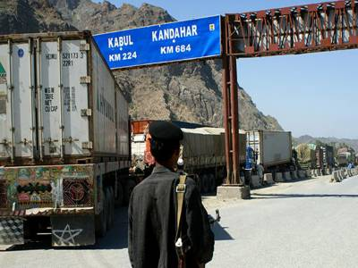 افغانستان نے پاکستان کے ساتھ تجارت معطل کردی' 100 ٹرک چمن سے واپس بھجوا دیئے
