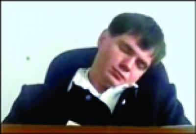 روس: جج مقدمے کی سماعت کرتے کرتے سو گئے