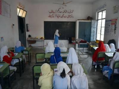 مانگا منڈی کے گاﺅں رنگیل پور میں مڈل سکول نہ ہونے سے سینکڑوں بچے تعلیم سے محروم