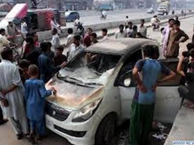 مصطفٰی ٹاﺅن: تیز رفتار کار کی ٹکر سے 40 سالہ خاکروب جاں بحق