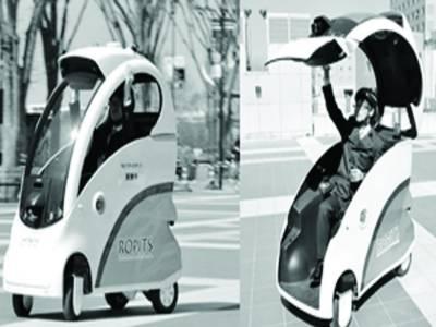جاپان نے دنیا کی سب سے چھوٹی کار متعارف کرا دی