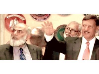 الیکشن کمشن نے گفتگو کا نوٹس لے لیا' ریکارڈنگ طلب' زرداری غیر جانبدار نوازشریف سچے لیڈر ہیں' بیان پر قائم ہوں: نگران وزیر داخلہ