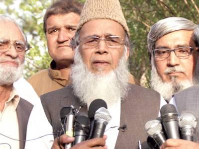 """""""انتخابات ملتوی کرانے کی سازشیں جاری ہیں"""" منور حسن کی ڈاکٹر قدیر سے ملاقات"""