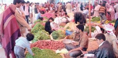 اتوار بازاروں میں سبزیاں' پھل عام دکانوں سے بھی مہنگے' خریدار پریشان' اول کے نام پر درجہ دوم اشیاءکی فروخت