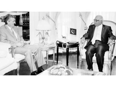 شفاف الیکشن ہماری ذمہ داری ہے' امریکہ توانائی بحران سے نمٹنے کیلئے پاکستان کی مدد کرے: کھوسو