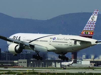 پی آئی اے کی اسلام آباد سے بارسلونا پہنچنے والے پرواز حادثہ سے بال بال بچ گئی