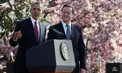 امریکی صدر 13 مئی کو وائٹ ہاﺅس میں ڈیوڈ کیمرون سے ملاقات کرینگےشام کی صورتحال پر تبادلہ خیال ہوگا