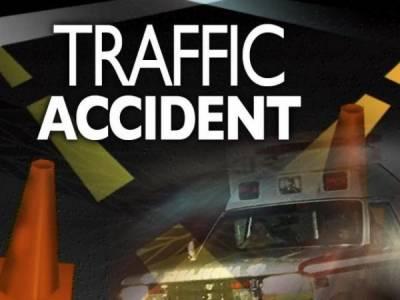 ٹریفک حادثات میں خاتون ہلاک '6 افراد زخمی