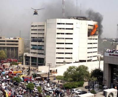 ایل ڈی اے پلازہ میں آتشزدگی کے بعد سمیڈا کا دفتر ڈیفنس منتقل