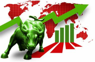 سٹاک مارکیٹوں میں زبردست تیزی' کے ایس ای 100 انڈیکس تاریخ کی بلند ترین سطح پر بند