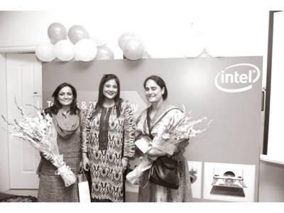 انٹیل پاکستان کی جانب سے ننھے بچوں کے لئے انٹرایکٹو ٹیکنالوجی سیشن