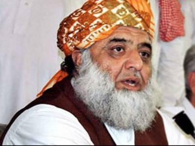 شرائط تسلیم ہونے پر وفاقی حکومت میں شامل ہو جائیں گے : فضل الرحمن