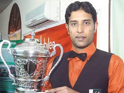 بھارت اور ایران کے کھلاڑیوں کو شکست' محمد آصف نے ایشین سنوکر چیمپئن شپ جیت لی