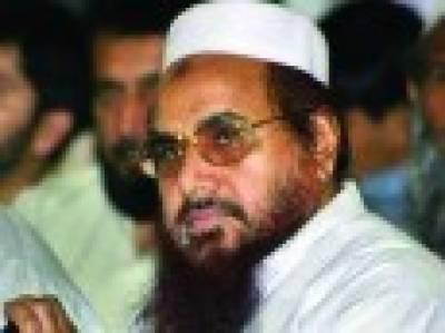 پاکستان میں امریکی پالیسیاں برداشت کرینگے نہ کشمیر پر کوئی فارمولا چلے گا: حافظ سعید