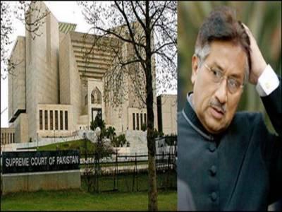 مشرف کیخلاف غداری کیس : سپریم کورٹ نے سندھ ہائیکورٹ کا ریکارڈ طلب کرلیا