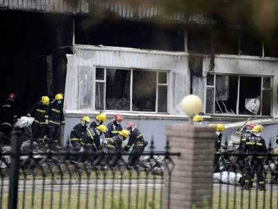 چین: پولٹری فارم میں خوفناک آتشزدگی سے 120 افراد ہلاک