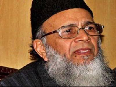 امریکہ بھارت کو علاقے کا تھانیدار بنانے کیلئے پاکستانی حکمرانوں پر دباﺅ ڈال رہا ہے:منور حسن