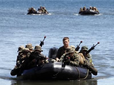 فلپائن اور امریکہ کی بحری افواج کی مشترکہ مشقوں کا آغاز