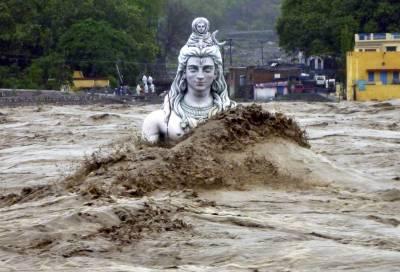 بھارت: سیلاب نے تباہی مچا دی، کئی دیہات صفحہ ہستی سے مٹ گئے