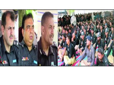 رشوت لینے والوں کےلئے محکمہ پولیس میں کوئی جگہ نہیں: غلام محمود ڈوگر