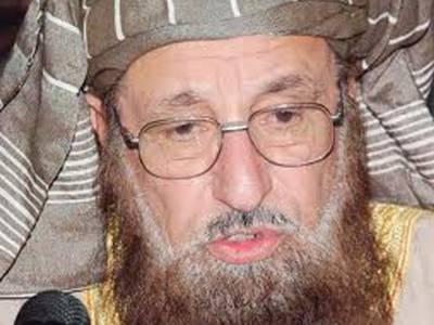 نواز شریف اے پی سی میں طالبان سے مذاکرات کو سرفہرست رکھیں: سمیع الحق