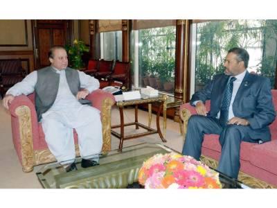 اسلام آباد: سعودی سفیر کی وزیراعظم نواز شریف سے ملاقات، رمضان کی مبارکباد دی