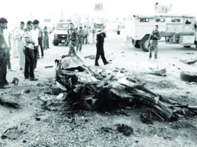 عراق : خودکش حملہ ' بم دھماکے ' فائرنگ '25 سکیورٹی اہلکاروں سمیت 40 ہلاک