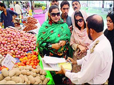 رمضان بازاروں میں شہریوں کو ریلیف ملے گا: سلطانہ شاہین