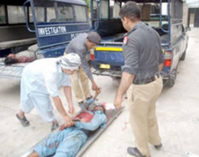 فیروز والا میں نوجوان قتل' کاہنہ' غالب مارکیٹ سے دو نعشیں برآمد