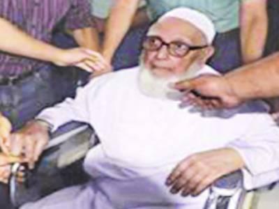 71ءمیں جنگی جرائم کا الزام : بنگلہ دیش کے سابق امیر جماعت اسلامی پروفیسر غلام اعظم کو 90 سال قید' مظاہرے ' جھڑپیں ' ہڑتال