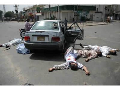 کراچی میں قتل و غارت جاری، ٹی وی کیمرہ مین سمیت 7ہلاک