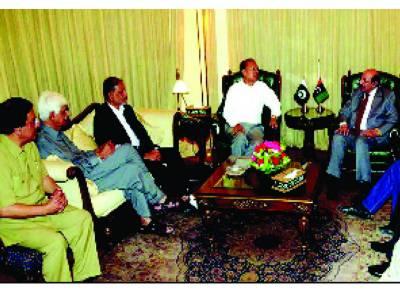 وزیر اعلیٰ سندھ سے تحریک انصاف کے وفد کی ملاقات، ورکنگ ریلیشن شپ قائم کرنے پر اتفاق