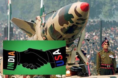 امریکہ سے بھارت کے 5ارب ڈالر کے اسلحہ کے 4معاہدے متوقع