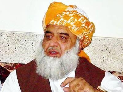 امن جرگہ کو مذاکرات کا حصہ نہ بنایا تو اس میں شامل نہیں ہونگے: فضل الرحمن