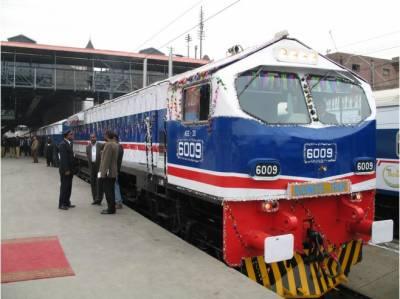 کئی برسوں زوال پذیر ریلوے بہتری کی جانب گامزن ہے: سعد رفیق