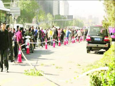 چین: کمیونسٹ پارٹی کے صوبائی دفتر کے باہر دھماکہ، ایک شخص ہلاک، آٹھ زخمی