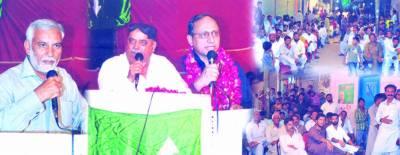 بلدیاتی الیکشن سمیت ہر انتخابی عمل سے گزر نے کیلئے تیار ہیں ، سینیٹر سعید غنی