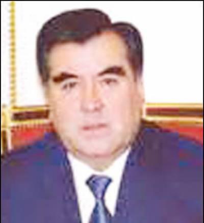 روس کے حمایت یافتہ امام علی رحمان چوتھی بار تاجکستان کے صدر منتخب