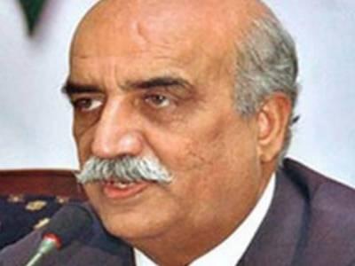 حکومت فیصلہ کرے طالبان کے انکار کے بعد کیا کرنا ہے: خورشید شاہ