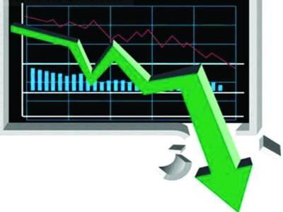 اسٹاک ایکس چینج میں مندی ۔۔ سرمایہ کاری میں 16ارب 53 کروڑ روپے سے زائد کمی