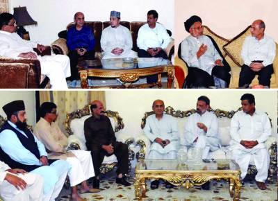 فرقہ ورانہ ہم آہنگی کیلئے رابطہ کمیٹی ارکان کی مذہبی رہنماﺅں سے ملاقاتیں